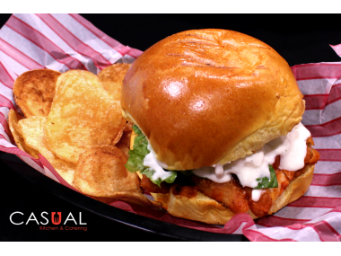 Chicken buffalo sandwich