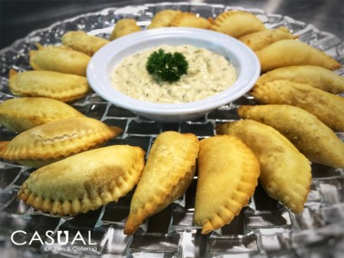 Byte size patties (mini empanadas)