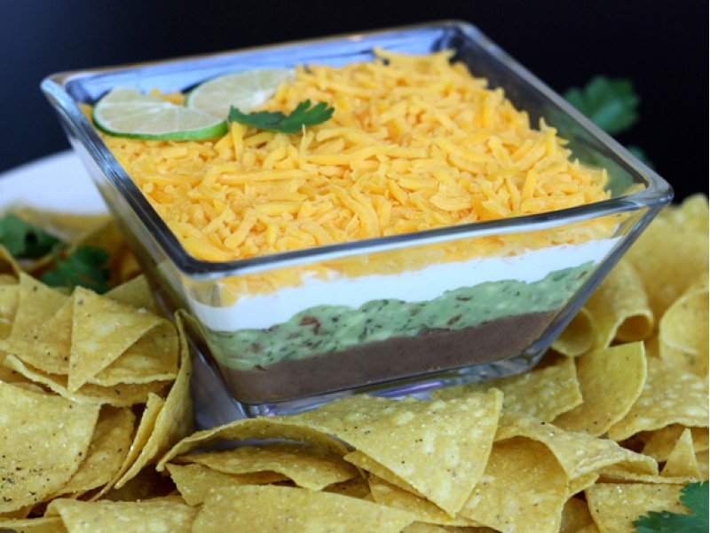 Four layer mexican dip